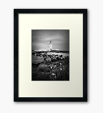 Port Fairy Lighthouse, Victoria, Aust Framed Print