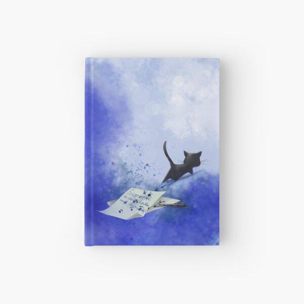 Schwarzes Kätzchen - du wirst niemals alleine schreiben Notizbuch