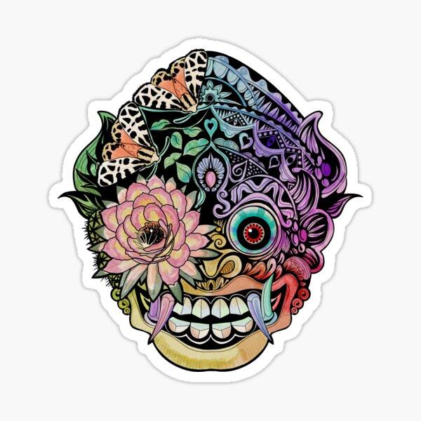 See Through Mask Sticker