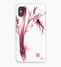 """INSPIRE"" - Original ink brush pen bamboo drawing/painting iPhone Case"
