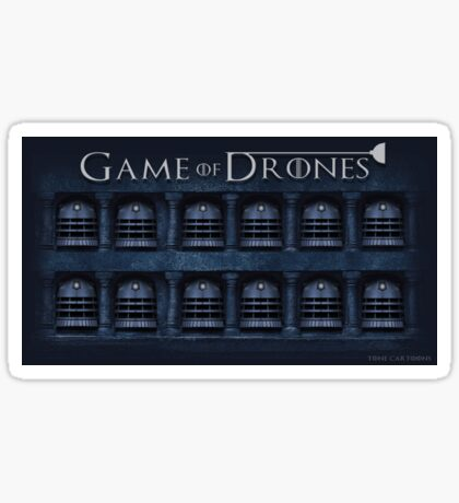 Game of Drones Sticker