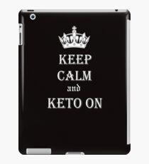 Keto, Health and Diet iPad Case/Skin
