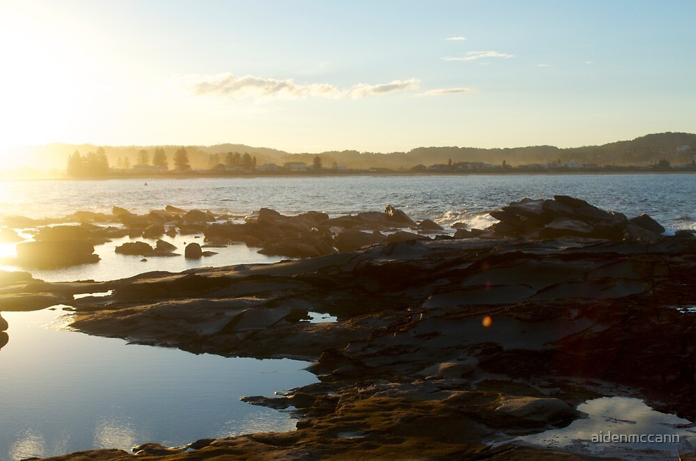 Rocky sunset by aidenmccann