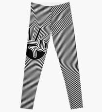 Frieden Emoji Ripple [endlos] Leggings
