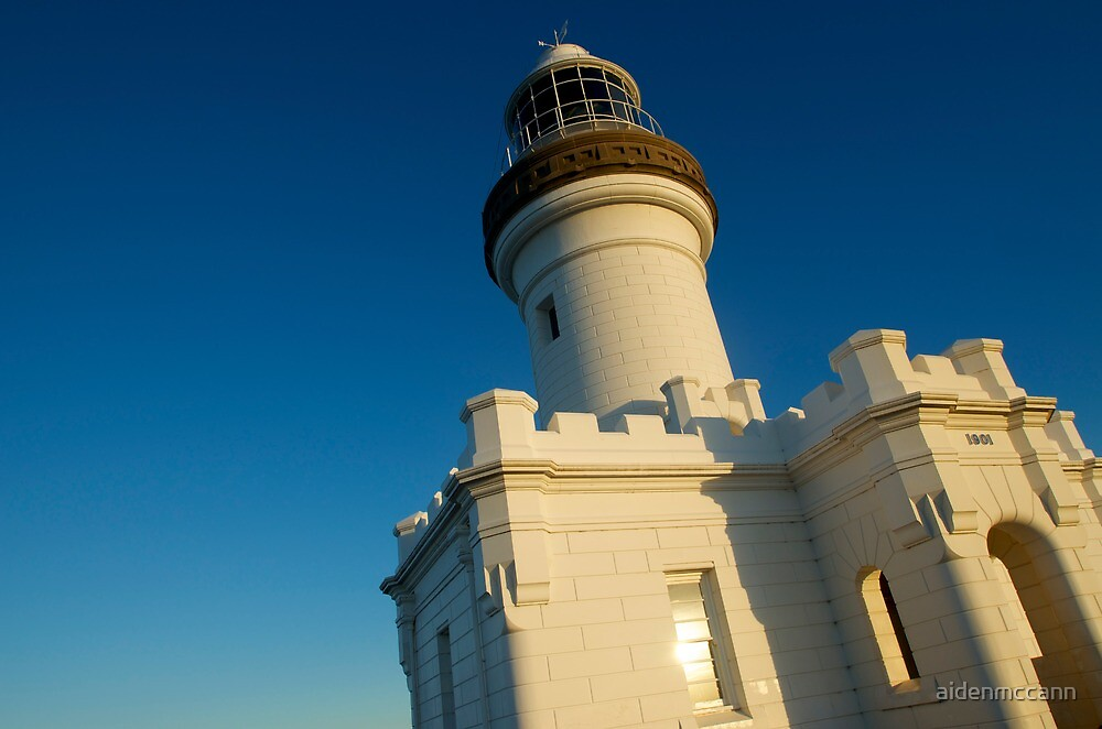 Byron Bay Lighthouse by aidenmccann