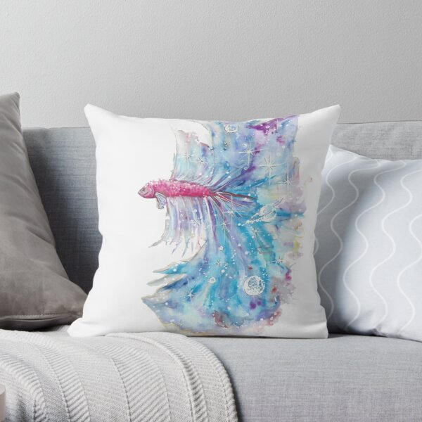 We all carry a piece of the Universe Throw Pillow