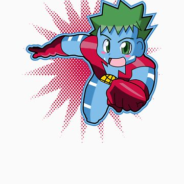 Chibi Captain Planet by drpsychoswanner