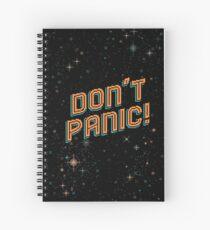 Cuaderno de espiral ¡No entres en pánico! Píxeles