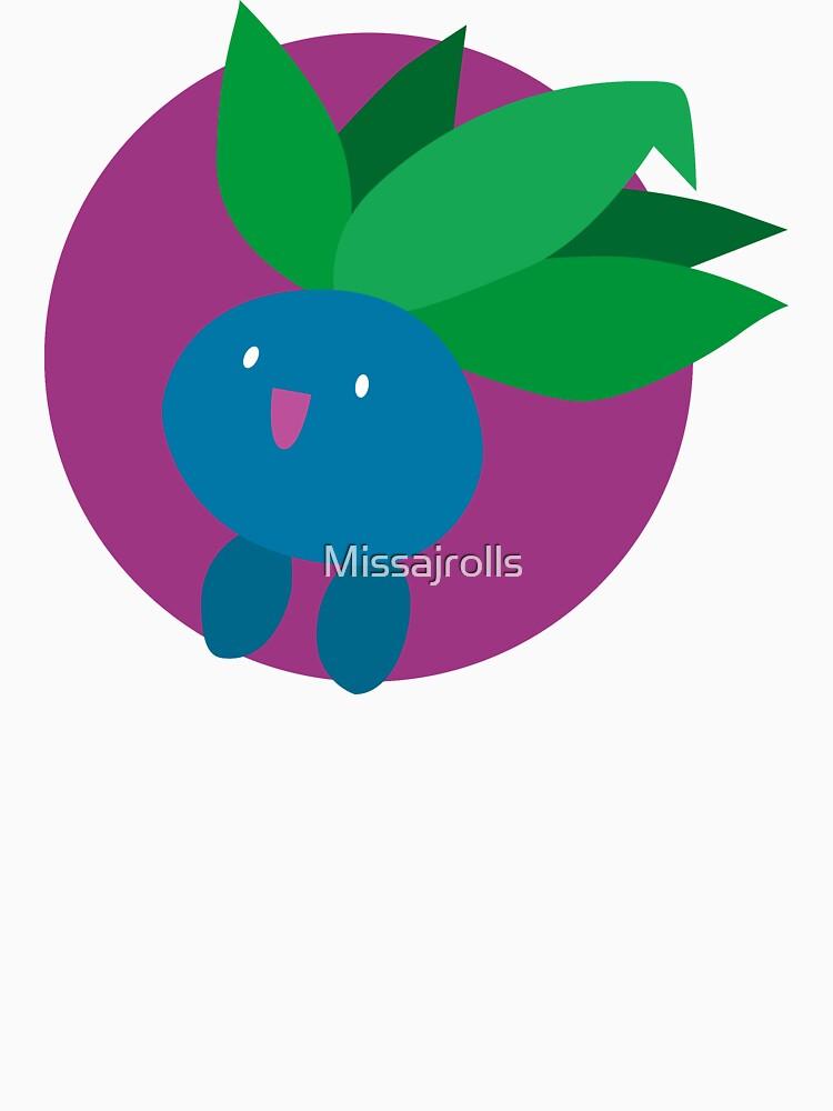 Oddish - Basic by Missajrolls