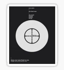 The Reichenbach Fall Design Sticker
