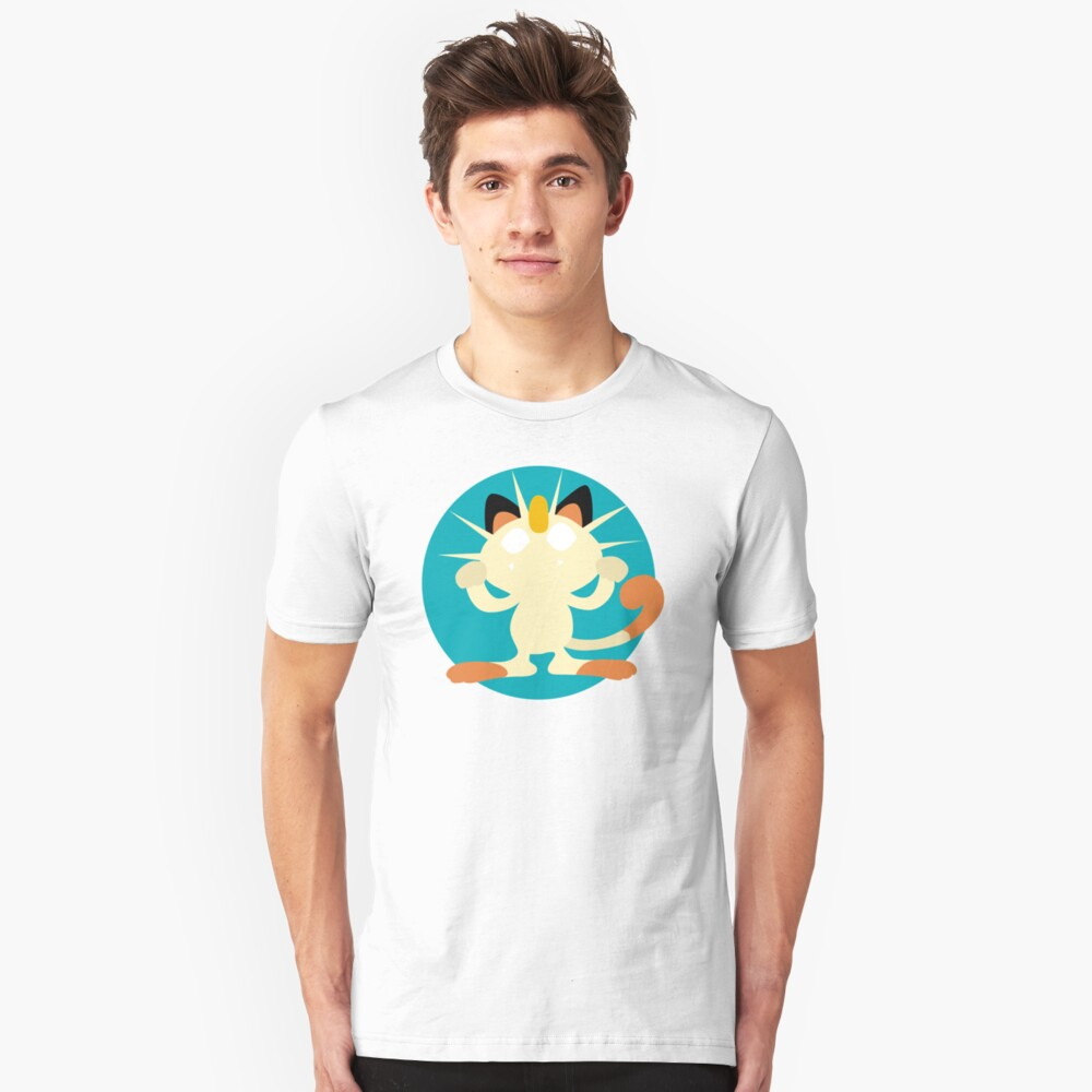 Meowth - Basic Unisex T-Shirt Front