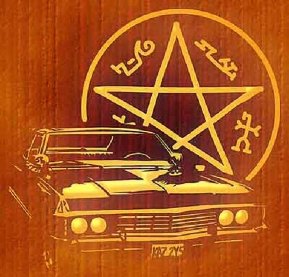 Supernatural Impala by deansbbydaddy