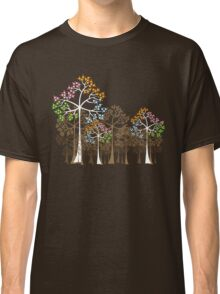 Colorful Four Seasons Trees Classic T-Shirt