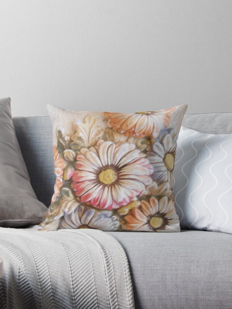 Three dimensional floral by JennyLeslie