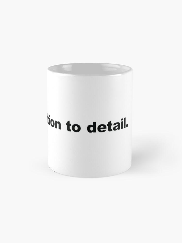 Alternate view of Devil in the Details. Mug