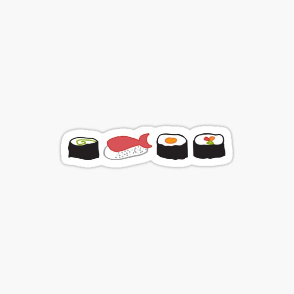 Sushi Pegatina