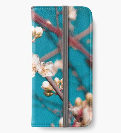 Blooming iPhone Wallet