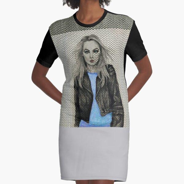 Girl Rider 1 Graphic T-Shirt Dress