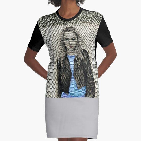 Girl Rider 2 Graphic T-Shirt Dress