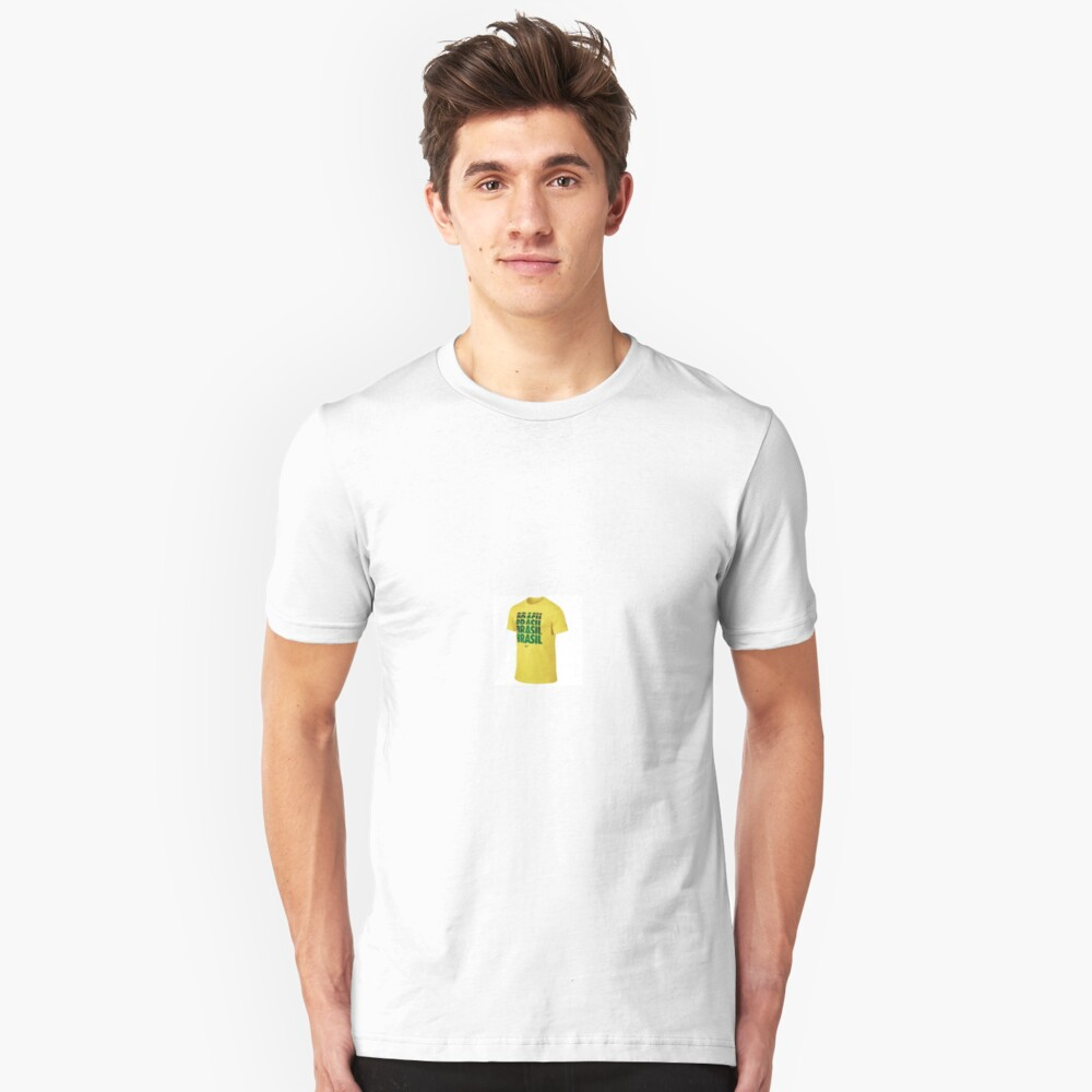 Brazil 2014 FIFA World Cup TShirt On Sale Unisex T-Shirt Front