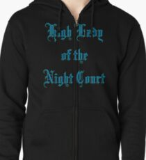 High Lady of the Night Court Zipped Hoodie