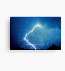Lightning Strike. Canvas Print