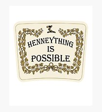 Henneything is Possible Photographic Print