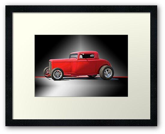 1932 Ford HiBoy Coupe 'Studio' by DaveKoontz