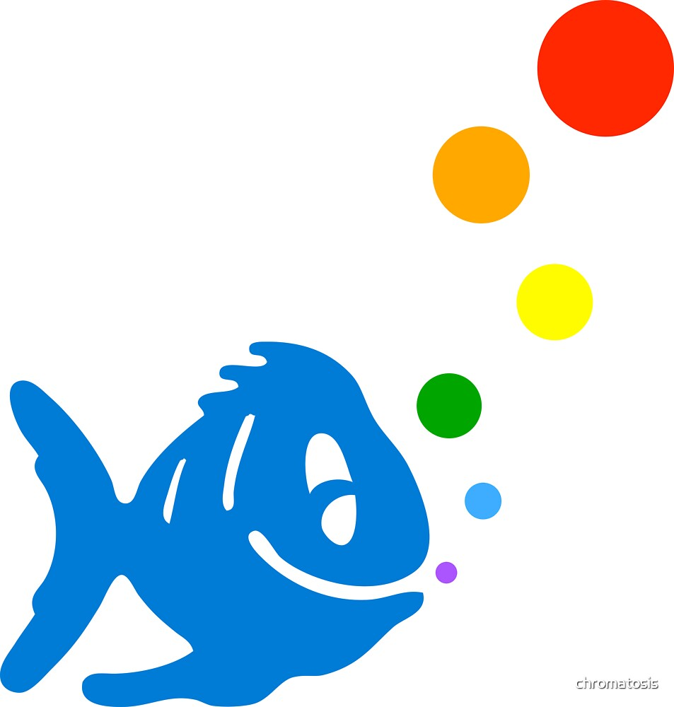 rainbow bubblefish by chromatosis