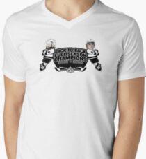 Back to Back Full Season Champions - Cartoon Men's V-Neck T-Shirt