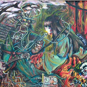 Asian Collab painting by Iroek