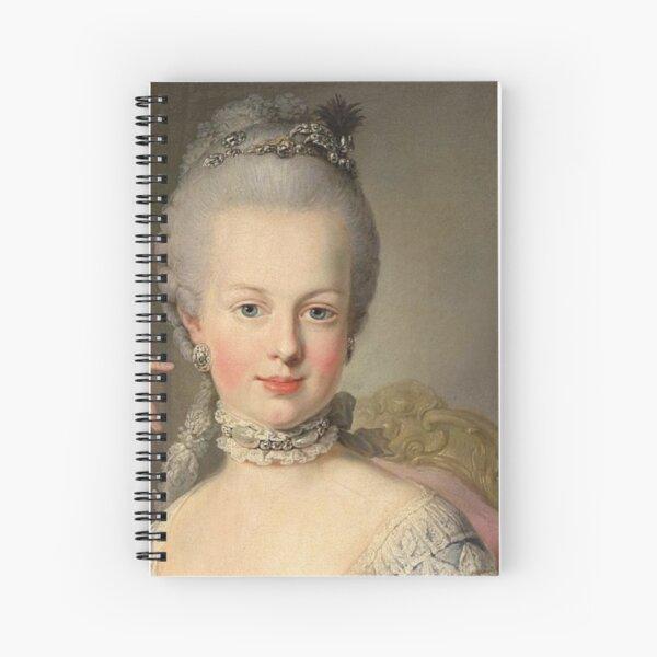 Beautiful Marie Antoinette,Potrait Spiral Notebook
