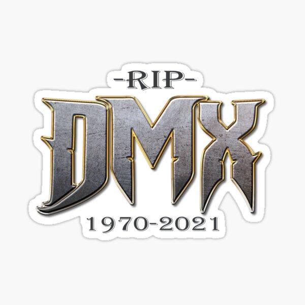 Rip dmx rapper-rest in peace-rip dmx-rip dmx 1970-2021 Sticker