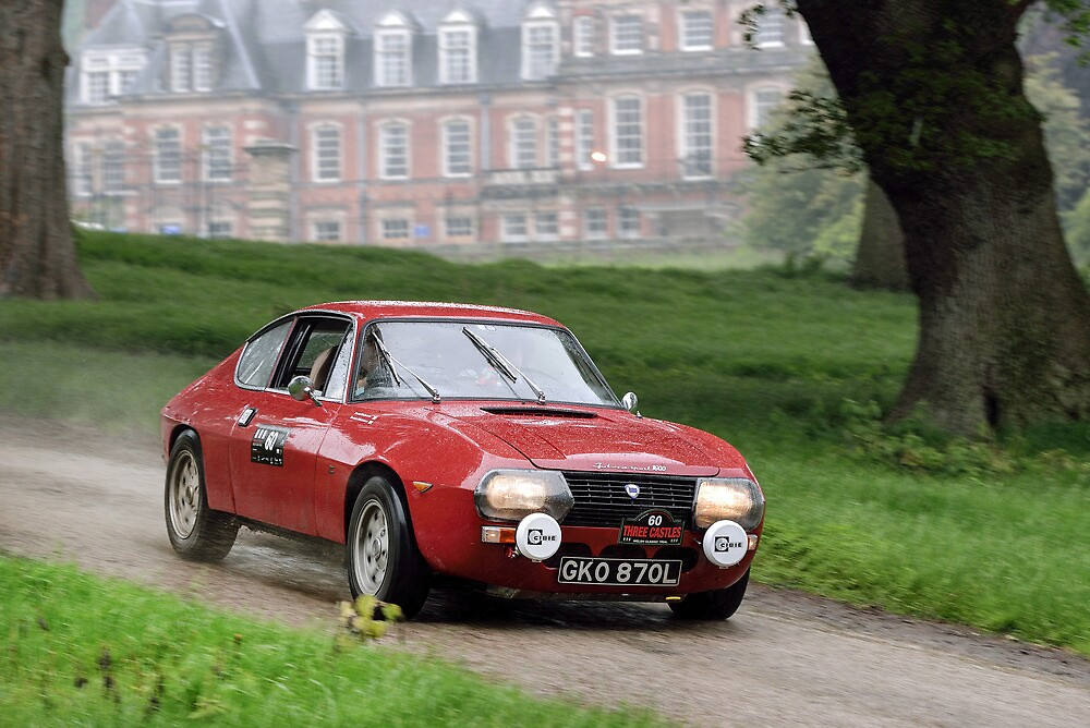 The Three Castles Welsh Trial 2014 - Lancia Fulvia Zagato by Three-Castles