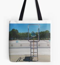 Lifeguard's Throne in Spring Tote Bag