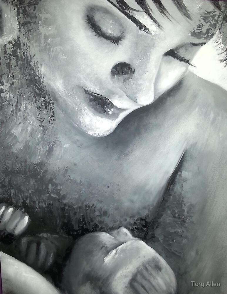 Mother and child by Tory Allen