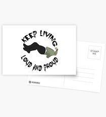 Beartooth Beaten in Lips Postcards