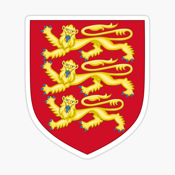 Royal Arms of England Sticker