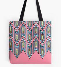 Pastel Arrowheads Tote Bag