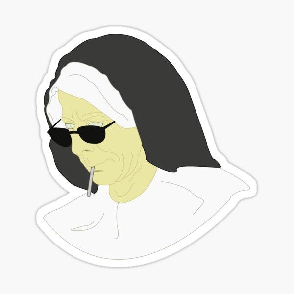 But Nun... Sticker