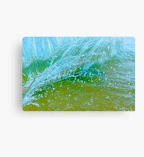 Water blue Canvas Print