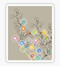 My Groovy Flower Garden Grows Sticker