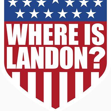 Where is Landon? by buzzsport