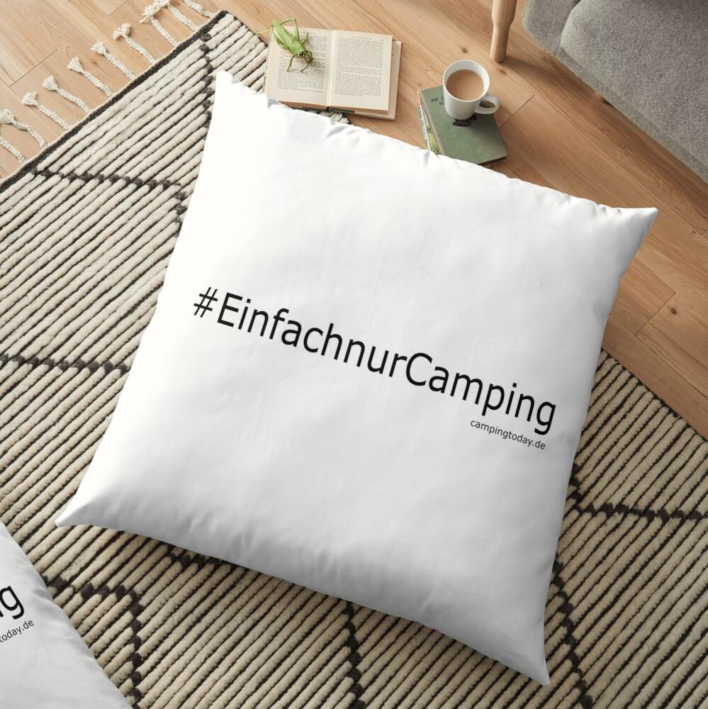 """Bodenkissen """" Einfach nur Camping"""""""