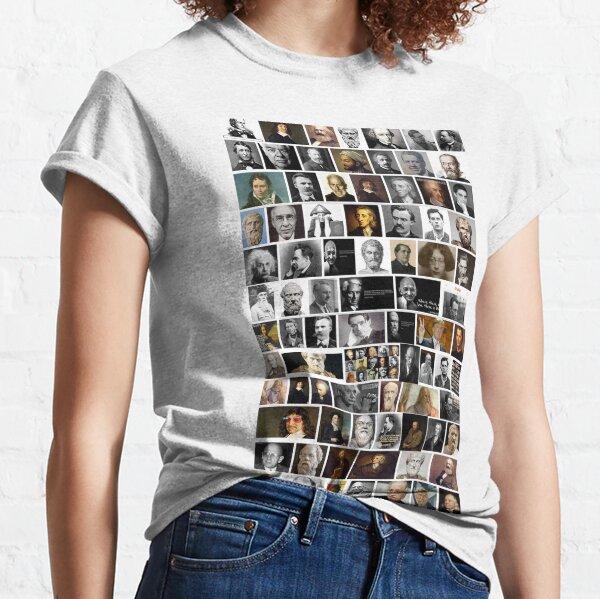 Famous philosophers, #Famous, #philosophers, #FamousPhilosophers, #Philosophy, #philosopher, #FamousPhilosopher Classic T-Shirt
