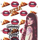 Pizza punk adore delano case by Kaleycritters