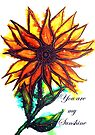 'You are my Sunshine' - Sunflower by Linda Callaghan