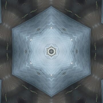 Blue Hexagon by JNathan