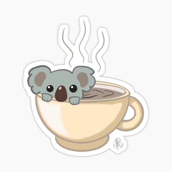 Koala Tea Sticker
