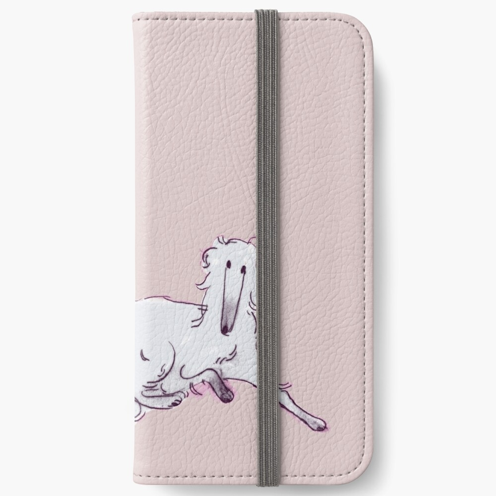 seated child iPhone Wallet